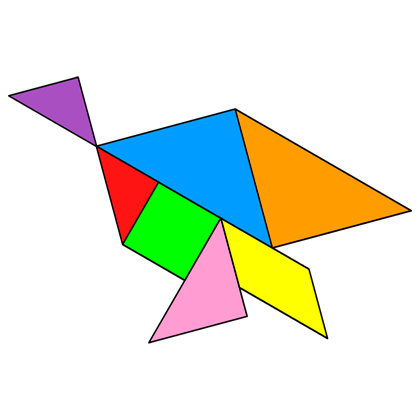 Tangram Quail