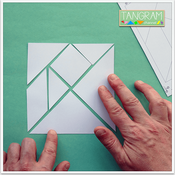 Two Printable Tangram Puzzles - Picture #6 - www.tangram-channel.com