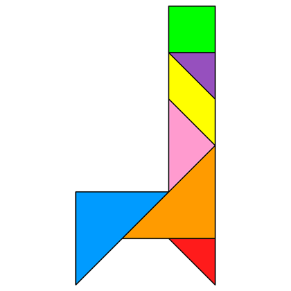Tangram Chair 2