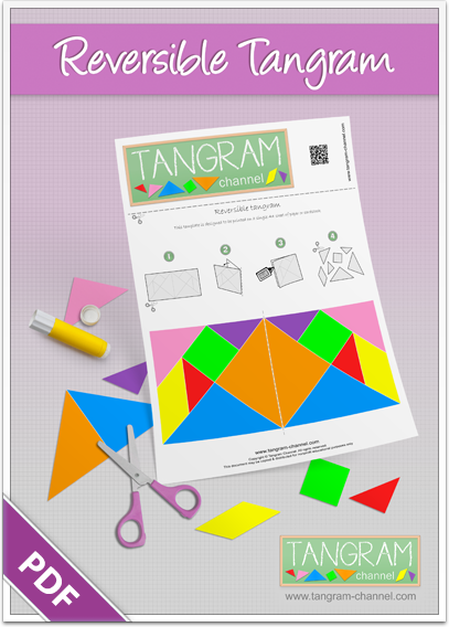 photo relating to Printable Tangram identify Tangrams toward slice out - Promoting academics and learners with