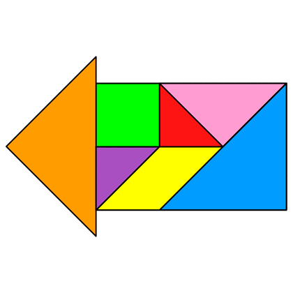 Tangram Arrow 5
