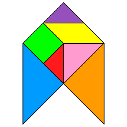 Tangram Arrow 6