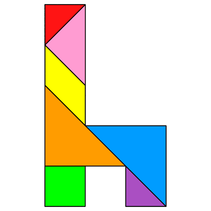 Tangram Chair - Tangram solution #14 - Providing teachers and pupils ...