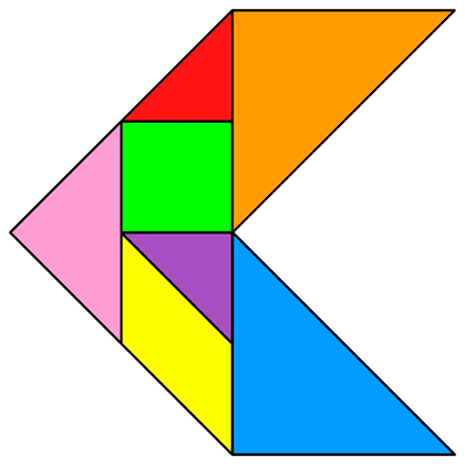 Tangram Arrow 4