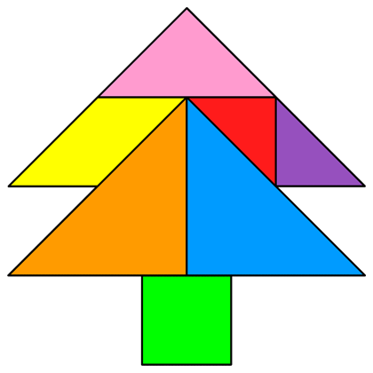 Tangram Tree - Tangram solution #267 - Providing teachers and pupils ...