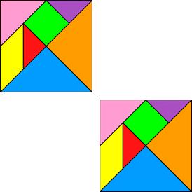 2 tangrams