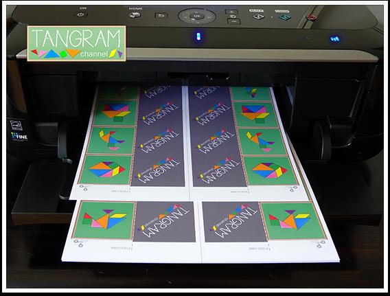 DIY - Tangram Memory Game - Tutorial Picture #1 - www.tangram-channel.com