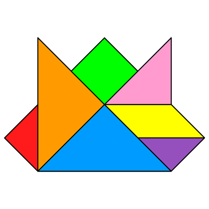 Tangram Crown