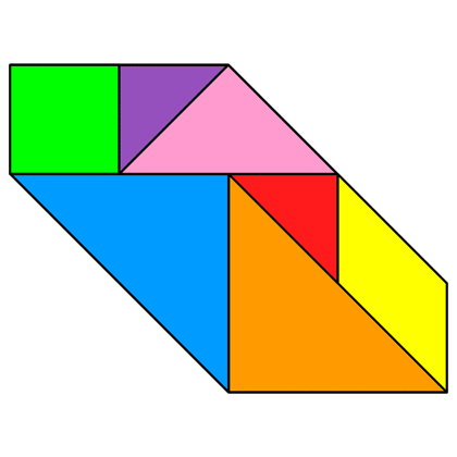 Tangram Convex polygon