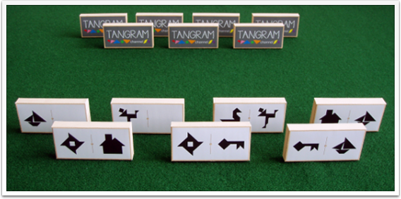 Tangram Dominoes - picture #2 - www.tangram-channel.com