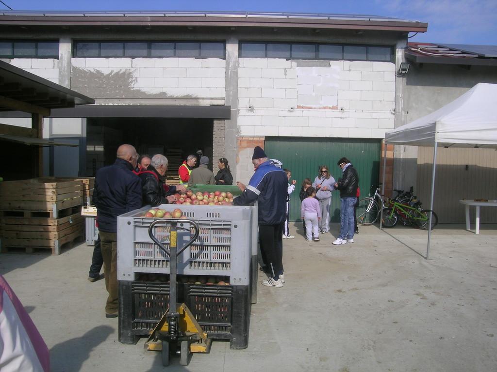 Visita all'Azienda Agricola di Miserocchi Luca a S. Antonio