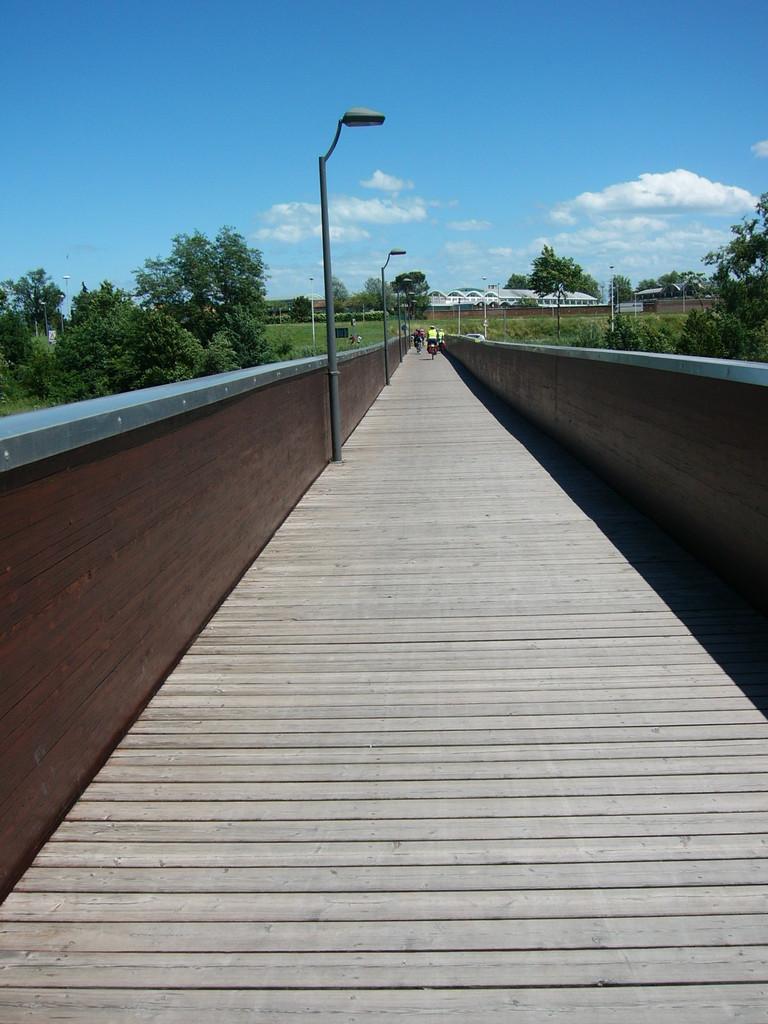 "Ponte ciclopedonale sul Savio ""dell'Ippodromo"""