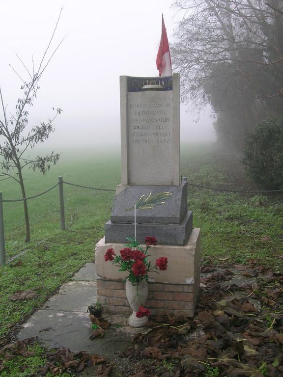 Partigiani Martiri della libertà caduti a Camerlona