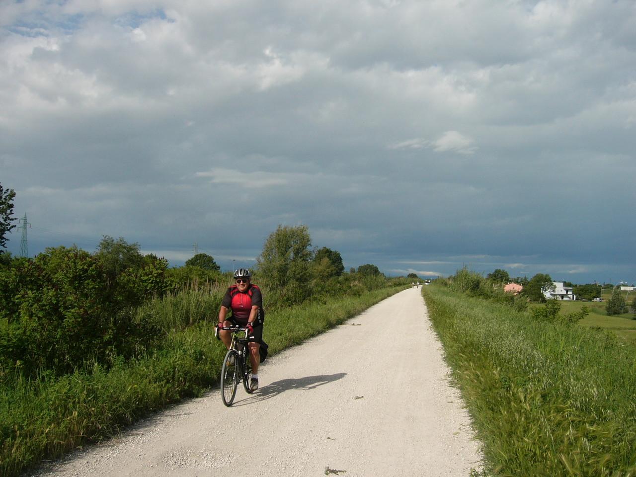 Argine Destro del Fiume Montone a Ravenna