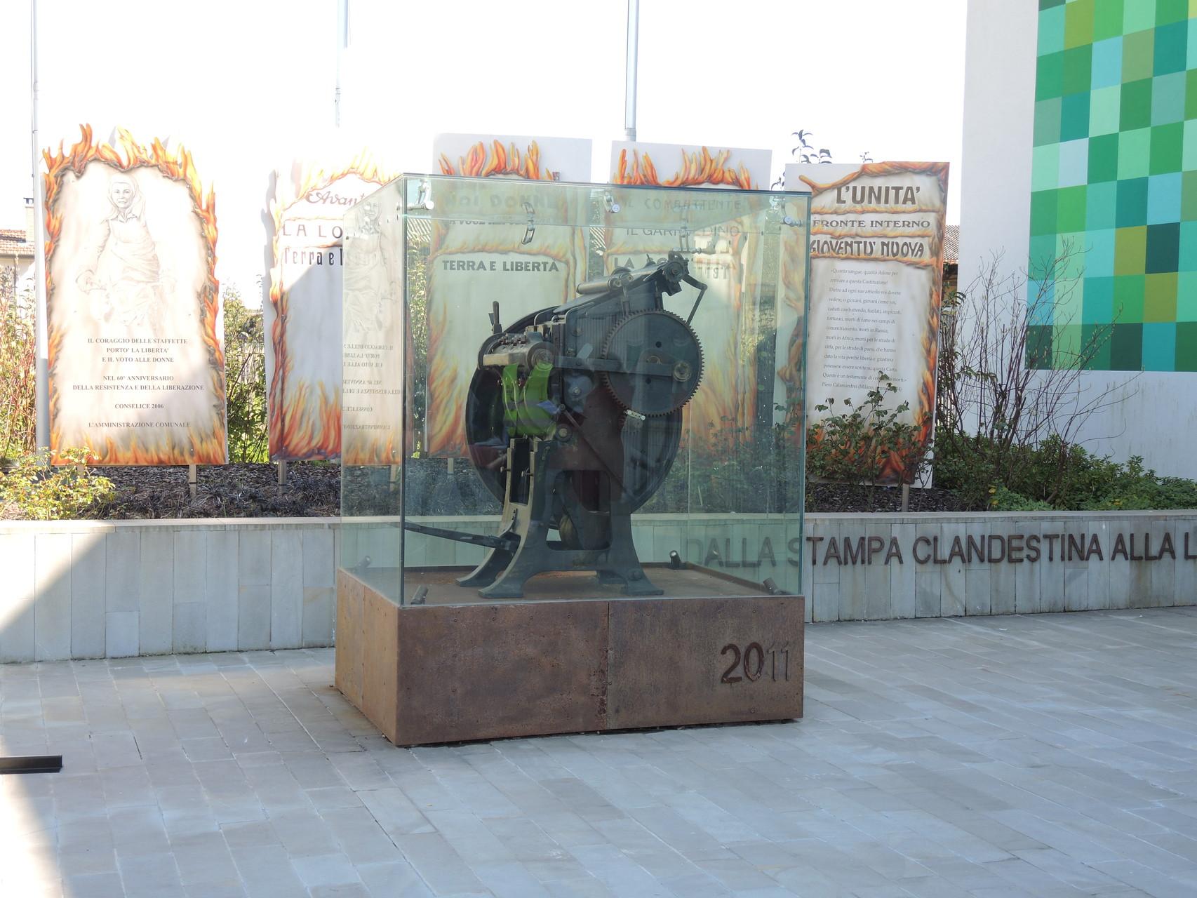 Conselice Monumento alla Stampa Clandestina