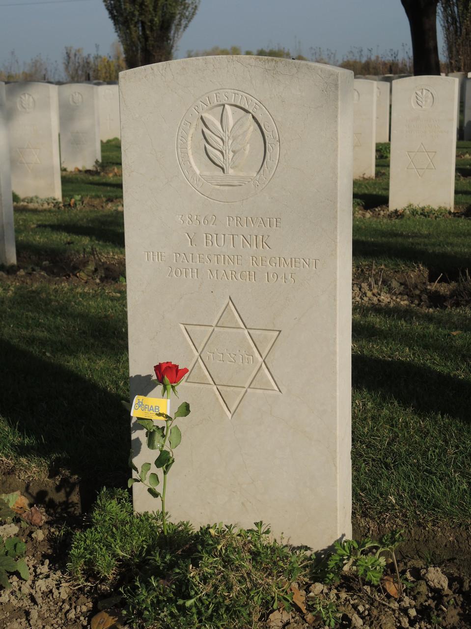 lapide militare ebreo