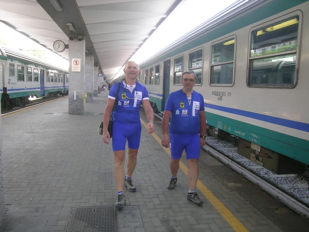 Si prende il treno a Trieste per tornare a casa