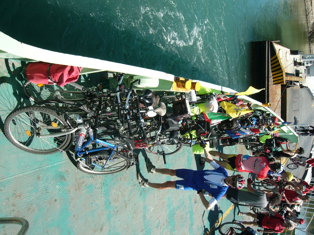 Sl ferry tra Pellestrina e Lido di Venezia