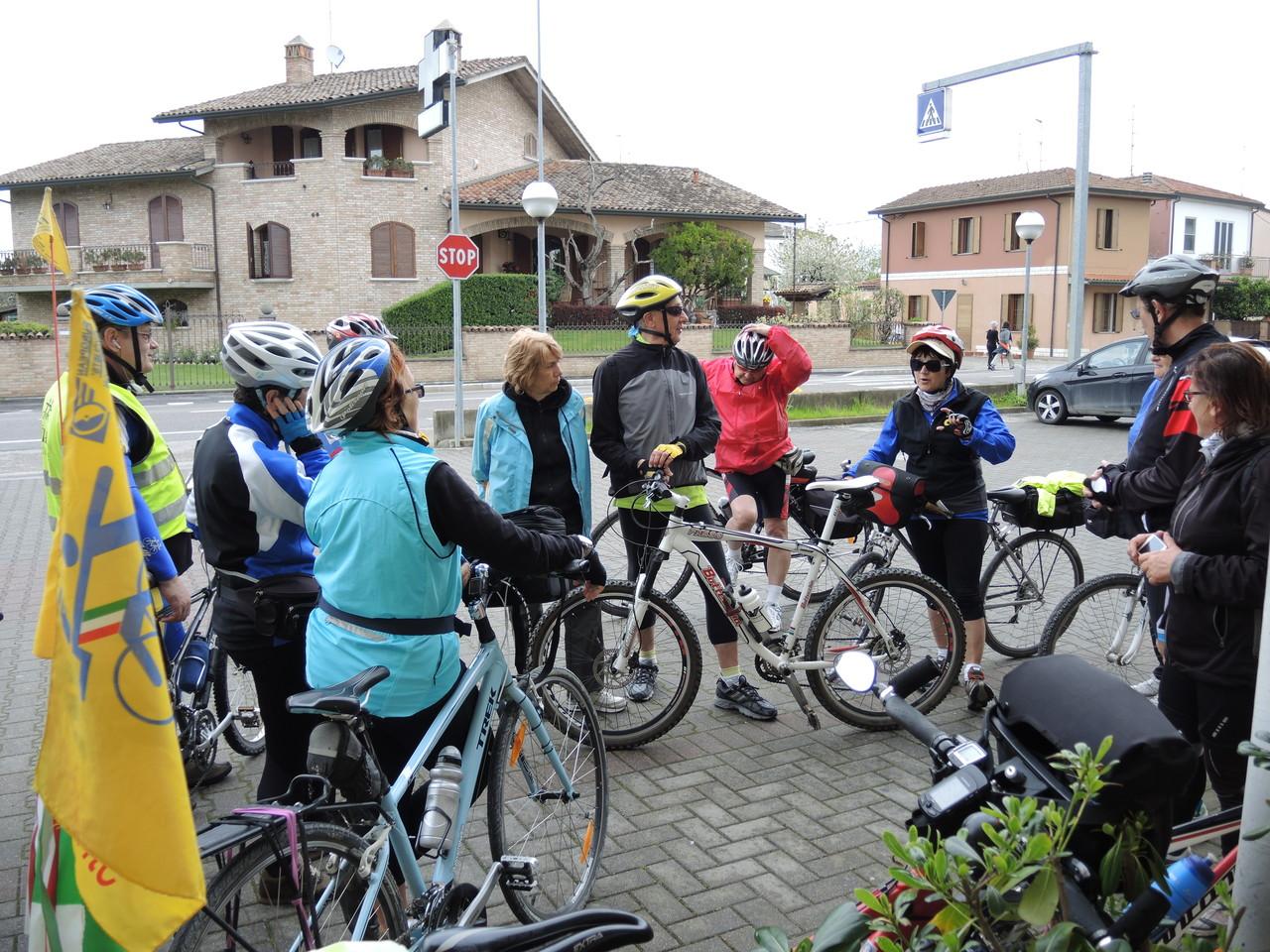 arrivo amici di Forlì