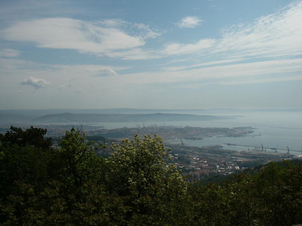 Panorama dalla terrazza di Opicina