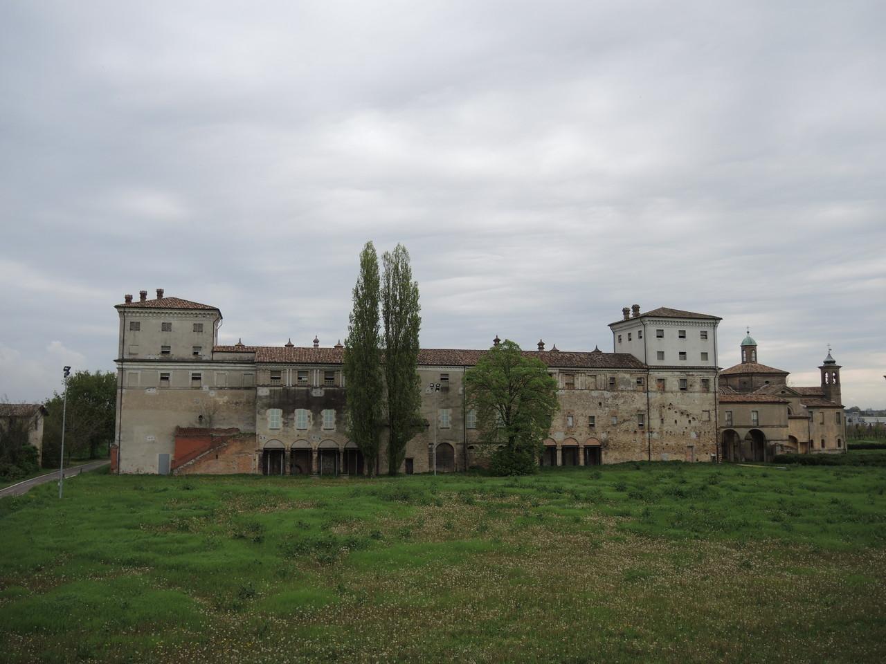 Palazzo San Giacomo dal rivale del fiume Lamone