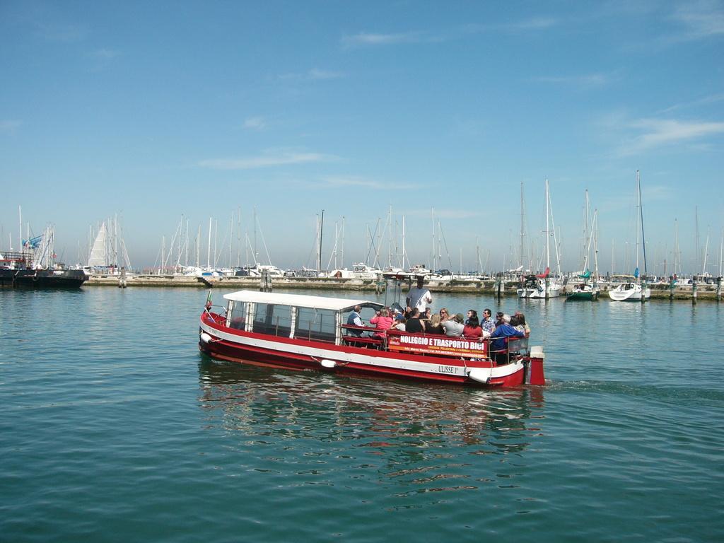 Traghetto privato da Chioggia a Pellestrina (con trasporto bici)