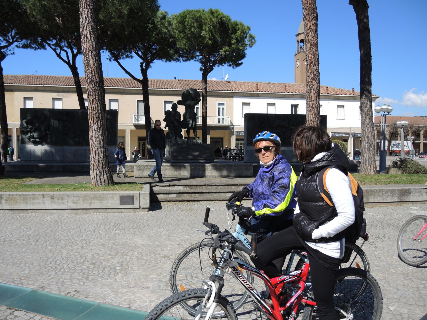 Monumento a ricordo della liberazione di Alfonsine
