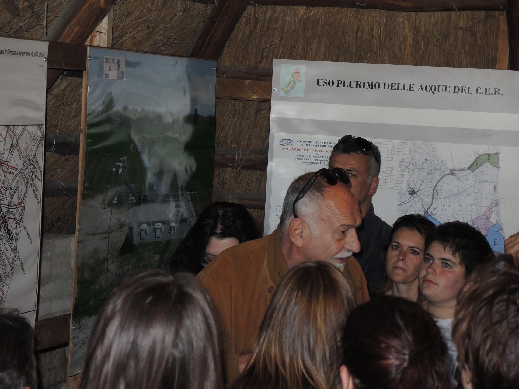 il Geom. Mazzotti Pensionato Consorzio Bonifica illustra le vicende idriche del territorio