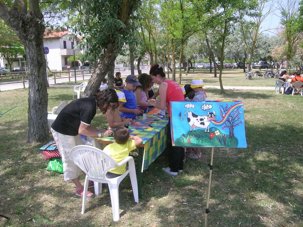 animazione per i piccoli partecipanti