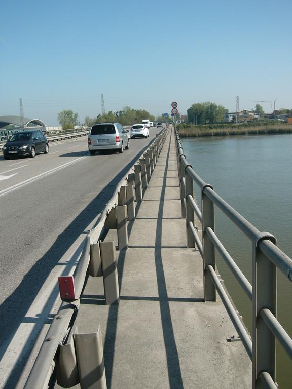 Ponte della Romea sul Brenta a Brondolo