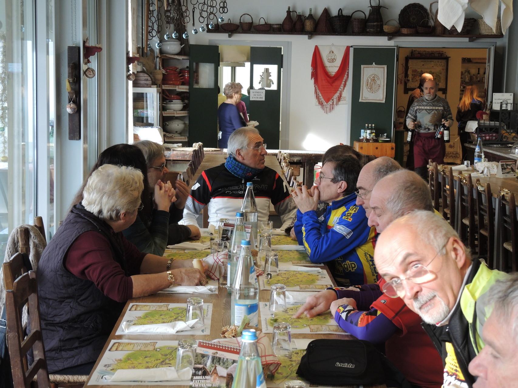 pranzo all'Ecomuseo