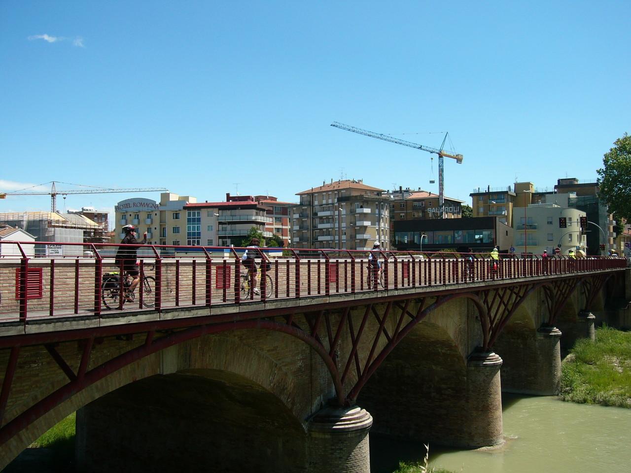 Ponte ciclopedonale sul Savio a Cesena