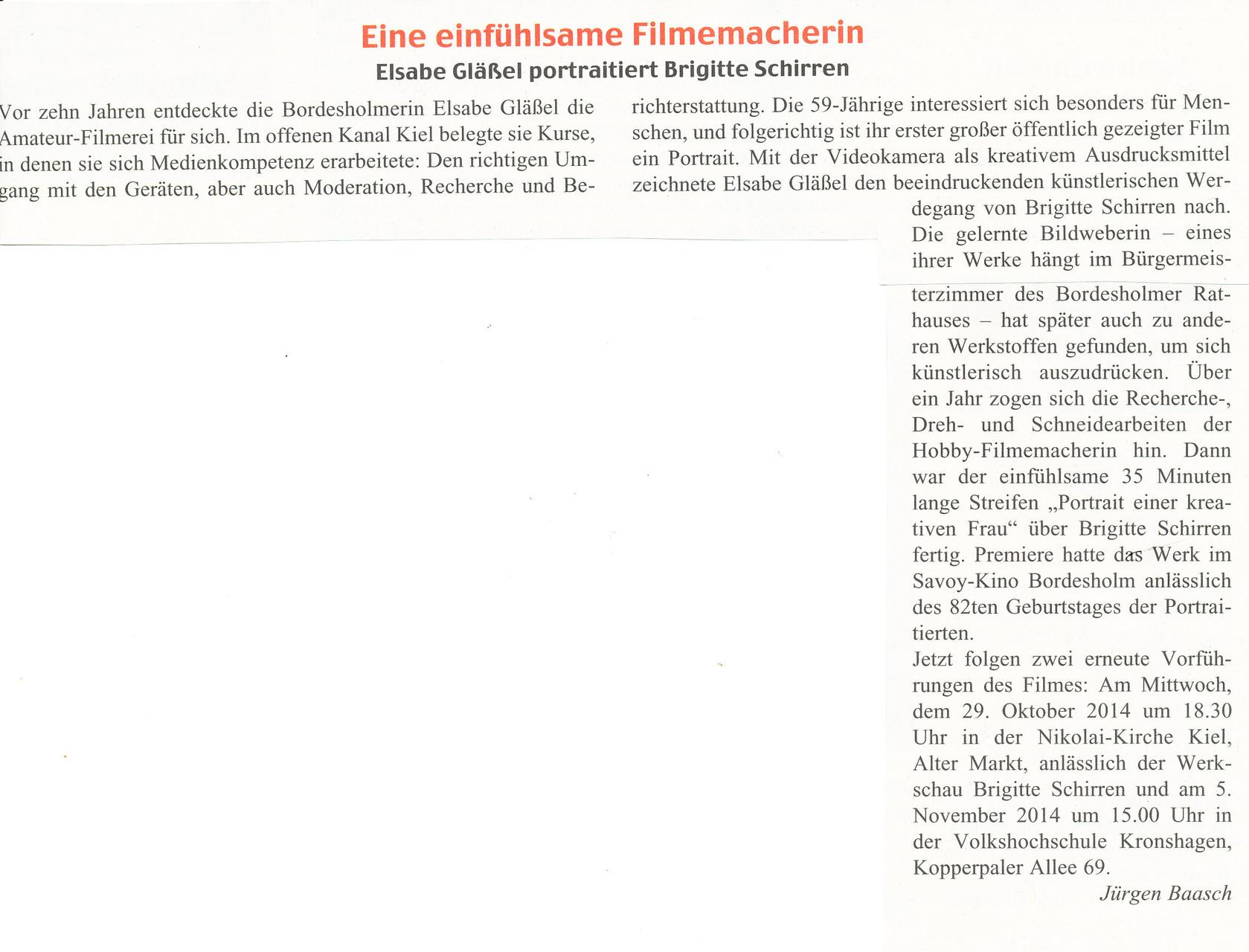 Bordesholmer Nachrichten 2014