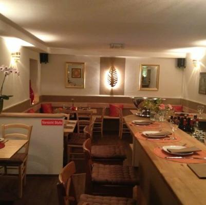 Farbgestalltung des Restaurant Methi in Höhenkirchen