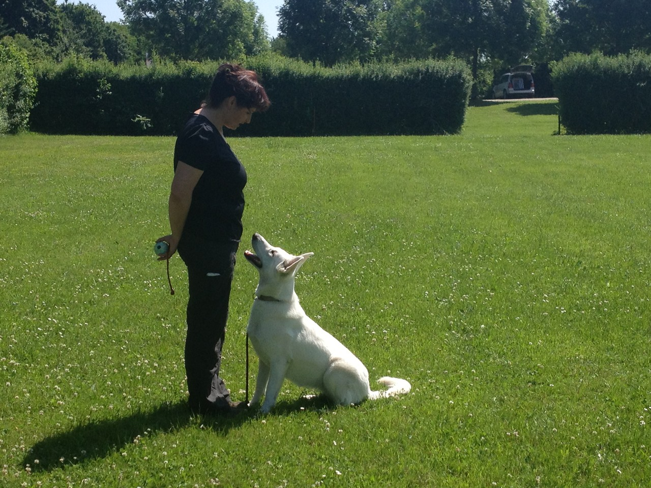 Kerstin mit Akira