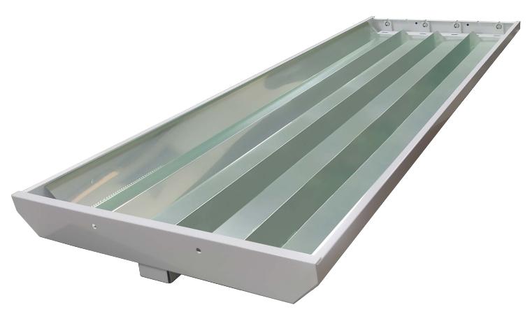 Gabinete Industrial Para 4 Tubos LED Especular