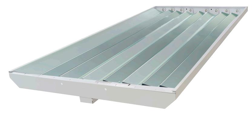 Gabinete Industrial Para 8 Tubos LED Especular