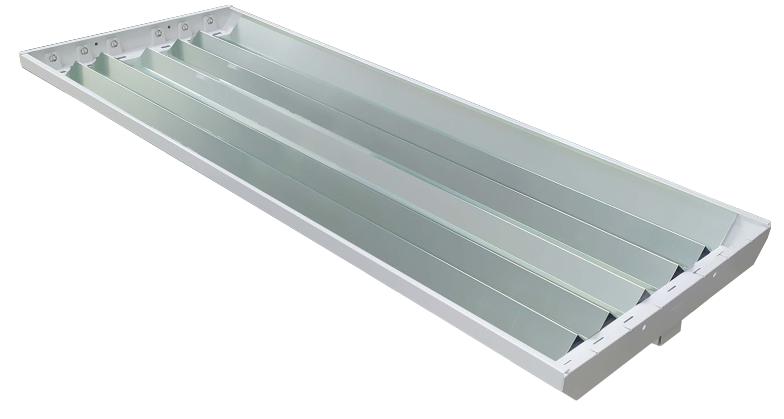 Gabinete Industrial Para 6 Tubos LED Especular