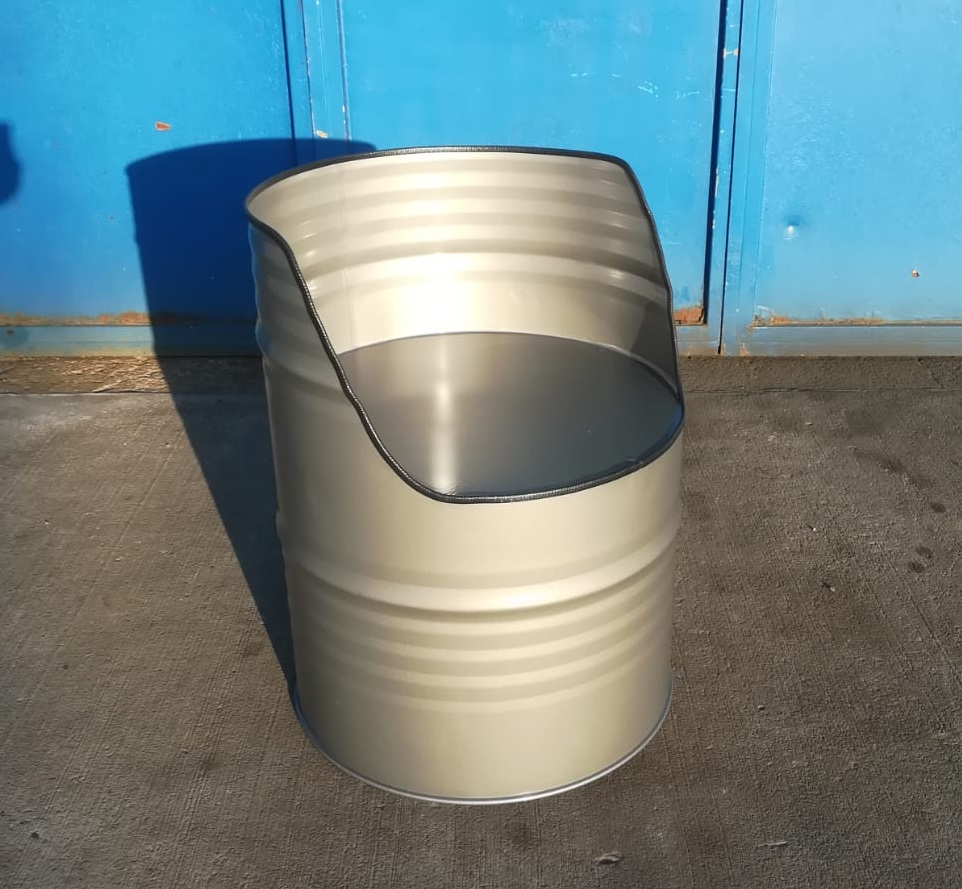Ölfass-Stuhl individuell gestaltbar