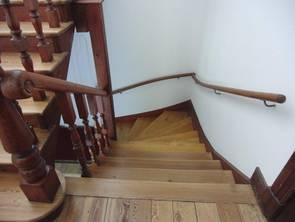 Restauration einer Treppe