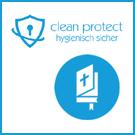 clean protect Reinigungsmittel Bestattungsmesse lexikon-bestattungen
