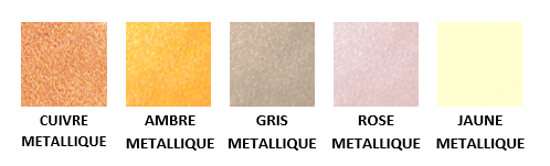 Pigments métallisés Nara