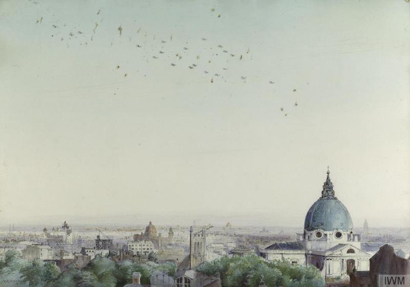 Bombing raid on London