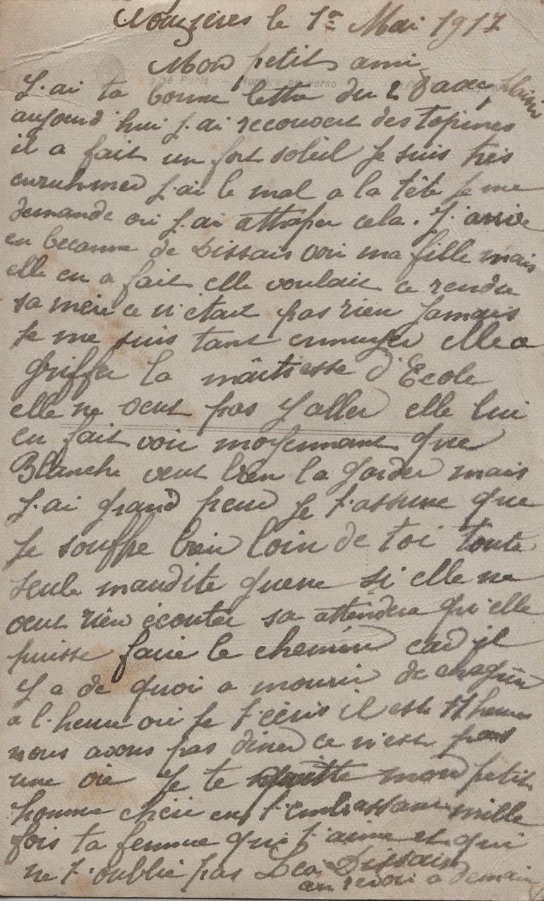 8. Nouzières 1 May 1917