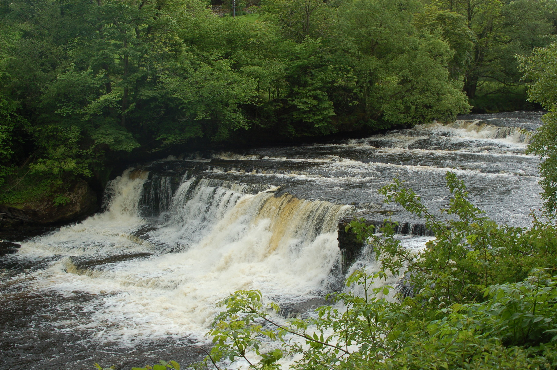 Yorkshire Dales, Aysgarth Middle Falls