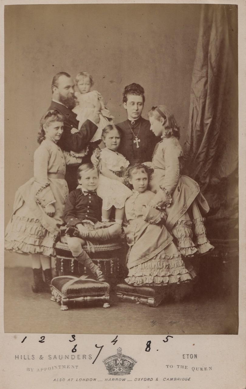 Princess Alice with family July 1875