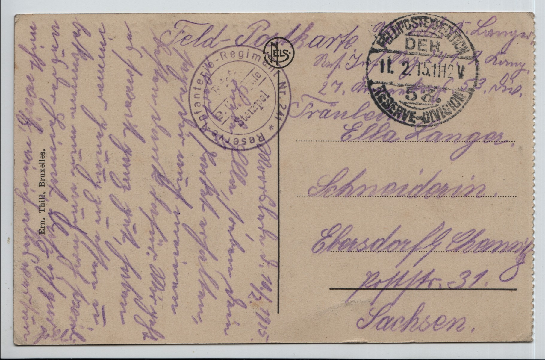 17. 11th Feb 1915