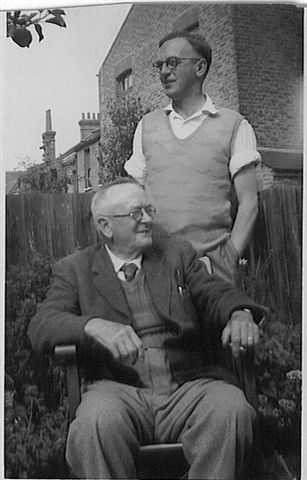 Alfred Ernest Grundy and son James (Jim) Grundy