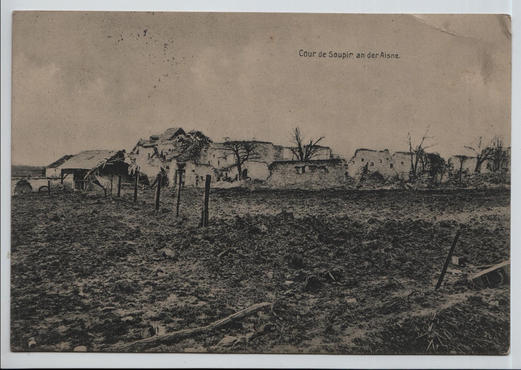 11. Soupir churchyard on the river Aisne
