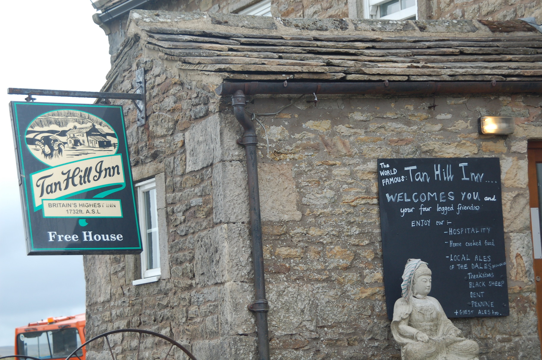 Tan Hill Inn, highest pub in England